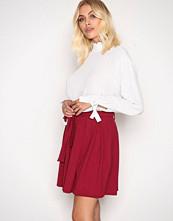 NLY Trend Wine Dressed Tie Skirt
