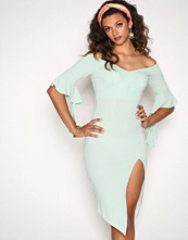 Ginger Fizz Turqoise Such A Babe Dress