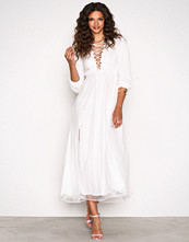 Aéryne White Opel Dress