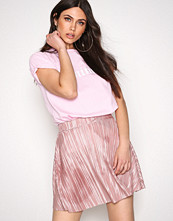NLY Trend Mauve Pleated A Line Skirt