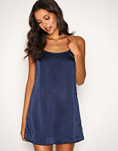Motel Navy Lucille Slip Dress