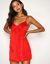 Motel Red Maltri Slip Dress