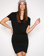 Hunkydory Black Tahae Jersey Dress