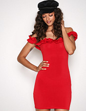 Motel Red Rizma Dress