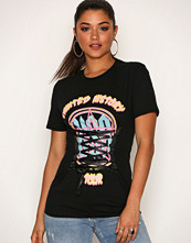 Missguided Black Tainted History Graphic T Shirt