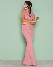 NLY Eve Rose V Neck Mermaid Gown
