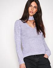 NLY Trend Violett Choker Knit Polo