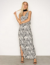 Selected Femme Svart Sflauren Hollie Sl Ankle Dress H