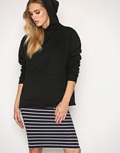 Only Mørk blå onlABBIE Stripe Calf Skirt Noos