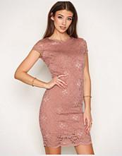 Selected Femme Lys brun Sfcharlotte Cap Lace Dress