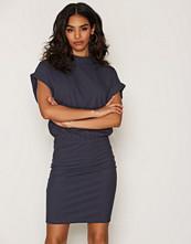 Selected Femme Blå Sfrasti Ss Dress