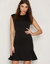 Polo Ralph Lauren Black Crewneck Flare Dress