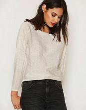 Only Hvit onlANITA L/S Pullover Knt
