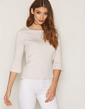 Only Hvit onlFELICIA 3/4 Pullover Knt