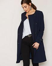 Vero Moda Mørk blå Vmjanna Sea Long Jacket A