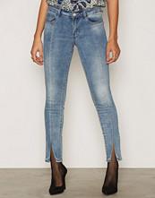 Vila Blå Vipetal Super Slim 7/8 Jeans /1