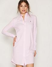 Polo Ralph Lauren Pink Oxford Long Sleeve Shirt Dress