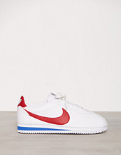 Nike Hvit/Rød Classic Cortez Leather