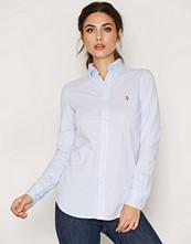 Polo Ralph Lauren Blue Heidi Long Sleeve Knit Shirt