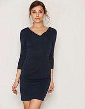Selected Femme Mørk blå Sfsasha 3/4 Dress Ex