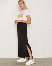Vila Svart Vimelli New Maxi Skirt - Noos