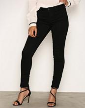 Jacqueline de Yong Svart Jdyskinny Reg. Ulle Black Jeans Dnm