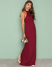 NLY Eve Burgundy Maxi Crepe Gown