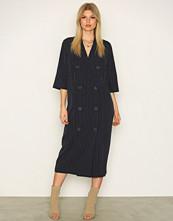 Selected Femme Mørk blå Sfpenny 3/4 Shirtdress Ex