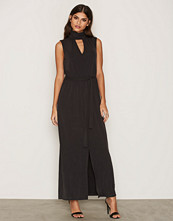 Selected Femme Svart Sfholly Sl Maxi Dress