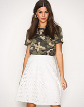 Selected Femme Hvit Sfcharline Mw Skirt