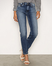Calvin Klein Waterfall HR Straight Ancle Jeans