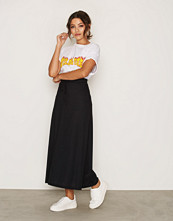 Vero Moda Svart Vmlony Nw Ankle Skirt Noos