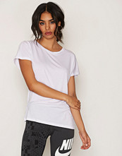 Vero Moda Hvit Vmcharly O-Neck Ss Top Noos