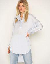 Selected Femme Blå Sfaugusta 7/8 Shirt