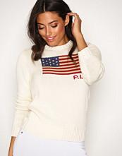 Polo Ralph Lauren Cream Crew Neck Long Sleeve Sweater