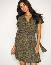 Michael Kors Green Mini Finley S/S Dress