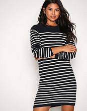 Polo Ralph Lauren Navy/Cream Ls Cn Dress Long Sleeve Casual Dress