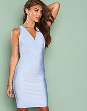 Wow Couture Seafoam Strap Detail Back Bodycon Dress