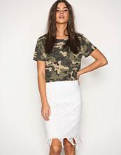 Vero Moda Hvit Vmflora Hw Lace Skirt
