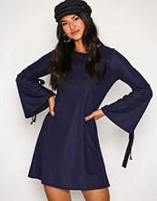 Glamorous Navy Knot L/S Dress