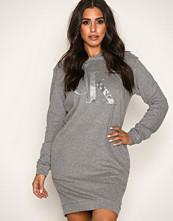 Calvin Klein Grey Darla True Icon Hooded LS