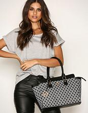 NYPD Svart/Hvit Handbag London