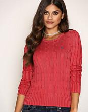 Polo Ralph Lauren Red Julianna Long Sleeve Sweater