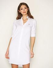 Polo Ralph Lauren White Oxford Long Sleeve Shirt Dress