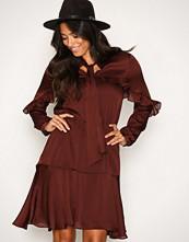Y.a.s Mørk lilla Yashai Dress