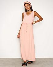 Object Collectors Item Lys rosa Objjosephine S/L Maxi Dress 91