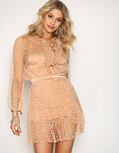 For Love & Lemons Almond All That Glitters Dress