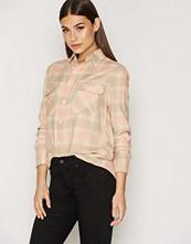 Polo Ralph Lauren Cream Flp Copr Long Sleeve Shirt