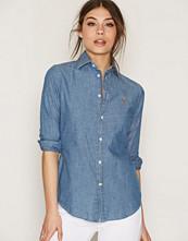 Polo Ralph Lauren Cobalt Kendal Long Sleeve Shirt