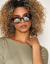 River Island Black Rose Gold Lens Sunglasses